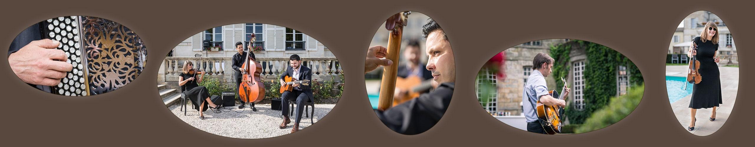 Contact orchestre jazz pour cocktail et soirées privées