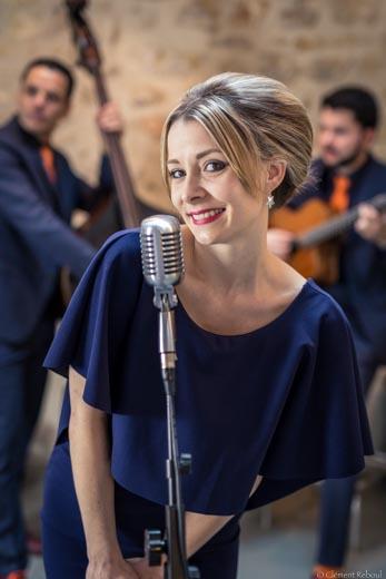 Chanteuse de jazz pop