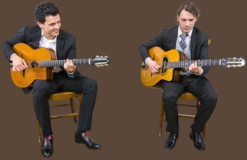 Duo de guitare jazz manouche pour cocktails