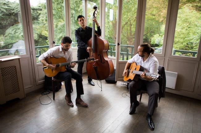 Trio jazz guitares et contrebasse