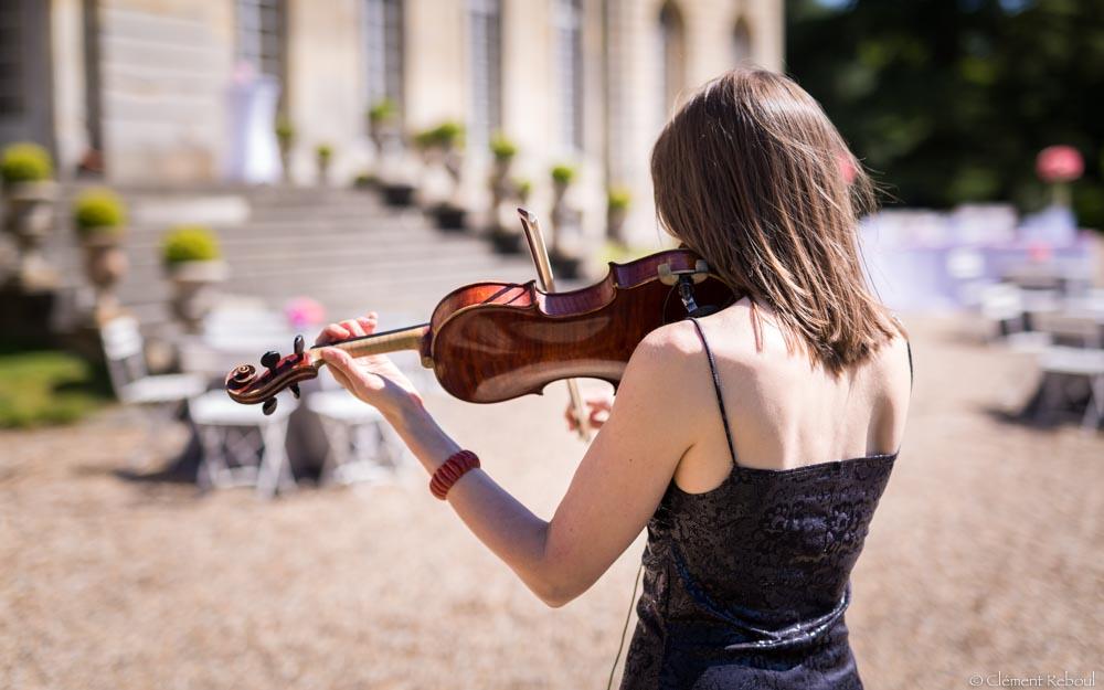 choisir le groupe de musique pour son mariage - violoniste jazz