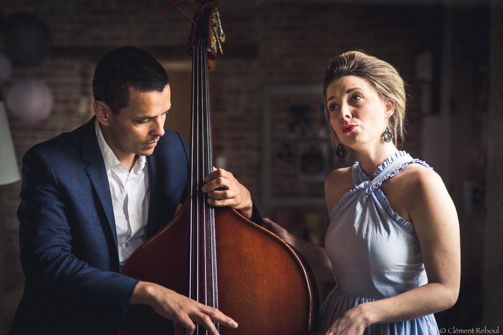 Chanteuse de jazz pour mariage